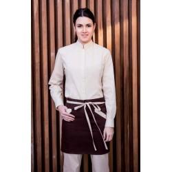 Avental de cintura bicolor Modelo 628