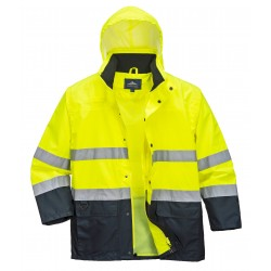 Casaco Bicolor Hi-Vis Lite Traffic